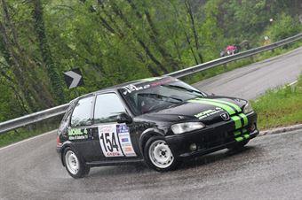 Accorsi Lorenzo (BL Racing, Peugeot 106 Rally #154), CAMPIONATO ITALIANO VELOCITÀ MONTAGNA