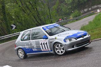 Granziera David (La Superba , Peugeot 106 #111), CAMPIONATO ITALIANO VELOCITÀ MONTAGNA