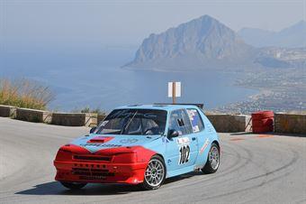 Motta Giombattista ( Viemmecorse, Peugeot 205 R#102), CAMPIONATO ITALIANO VELOCITÀ MONTAGNA