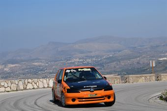 Leonardo Nicoletti ( Kronoracing, Peugeot 106 R #199), CAMPIONATO ITALIANO VELOCITÀ MONTAGNA