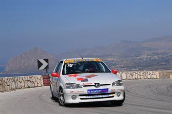 Trippiedi Rosario (Peugeot 106 Rally, Asd Scuderia Trapani Corse #178), CAMPIONATO ITALIANO VELOCITÀ MONTAGNA