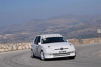 Cardillo Filippo (Catania Corse, Peugeot 106 R #122), CAMPIONATO ITALIANO VELOCITÀ MONTAGNA