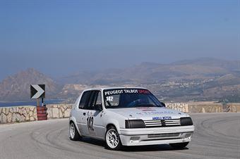 Massimo Savona (Peugeot 205 #142), CAMPIONATO ITALIANO VELOCITÀ MONTAGNA