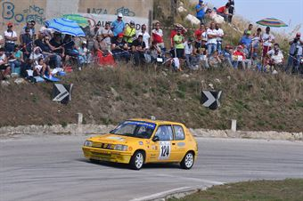 Giampiero Gianquinto ( Trapani Corse, Peugeot 205 R #124), CAMPIONATO ITALIANO VELOCITÀ MONTAGNA