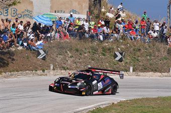 Alessandro Gabrielli (Gr. Sport. A.C. Ascoli P., Picchio Alfa Romeo 4C #57), CAMPIONATO ITALIANO VELOCITÀ MONTAGNA