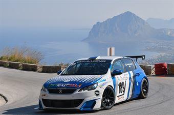 Tagliente Giovanni (SCS Motorsport, Peugeot 308 1.6 Thp #189), CAMPIONATO ITALIANO VELOCITÀ MONTAGNA