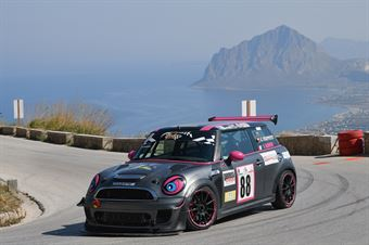 Pascucci Paola (P&G Racing, BMW Mini Cooper S #88), CAMPIONATO ITALIANO VELOCITÀ MONTAGNA