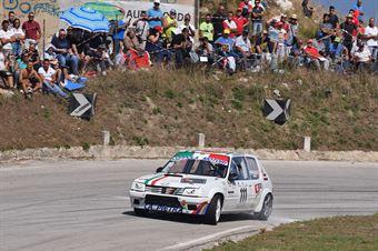 Giuseppe Pappalardo ( Tecnoracing, Peugeot 205 R #111), CAMPIONATO ITALIANO VELOCITÀ MONTAGNA