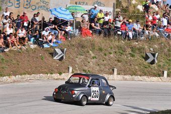 Piazza Antonino(Fiat 590 Gt Giannini, Asd Scuderia Trapani Corse #253), CAMPIONATO ITALIANO VELOCITÀ MONTAGNA