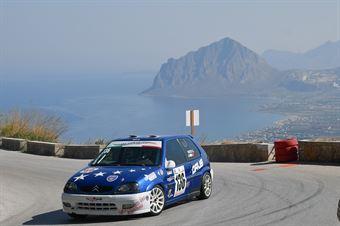 Gaetano Noto ( Scuderia Sunbeam M Sport, Citroen Saxo VTS #136), CAMPIONATO ITALIANO VELOCITÀ MONTAGNA