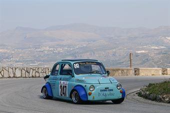 Sebastiano D'Agostino ( Giarre Corse, Fiat 500 #247), CAMPIONATO ITALIANO VELOCITÀ MONTAGNA