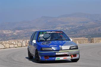 Andrea Trapani (Trapani Corse, Peugeot 106 #239), CAMPIONATO ITALIANO VELOCITÀ MONTAGNA