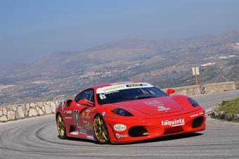 Rosario Iaquinta ( Project Tem, Ferrari  F430 Challenge #83), CAMPIONATO ITALIANO VELOCITÀ MONTAGNA