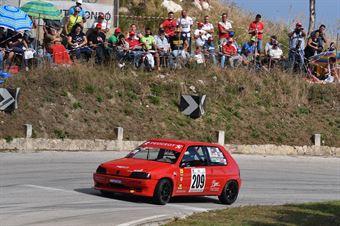 D'avola Salvatore (Peugeot 106 Rally, A.S.D. Scuderia Catania Corse #209), CAMPIONATO ITALIANO VELOCITÀ MONTAGNA