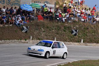 Carmelo Mannino ( Peugeot 106 #187), CAMPIONATO ITALIANO VELOCITÀ MONTAGNA