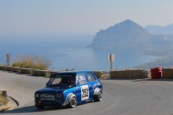 Andrea Maranzano ( Trapani corse, Fiat 126 #252), CAMPIONATO ITALIANO VELOCITÀ MONTAGNA