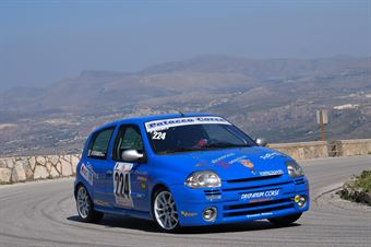 Francesco Stabile (Drepanum Corse, Renault Clio Rs #224), CAMPIONATO ITALIANO VELOCITÀ MONTAGNA
