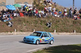Ferrauto Fabrizio (Ro Racing, Peugeot 106 R #222), CAMPIONATO ITALIANO VELOCITÀ MONTAGNA