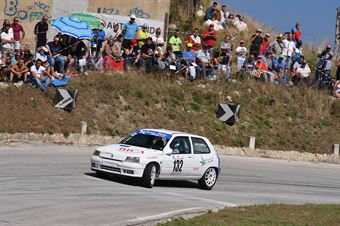 Gianluca Saverino ( Renault Clio Williams #132), CAMPIONATO ITALIANO VELOCITÀ MONTAGNA