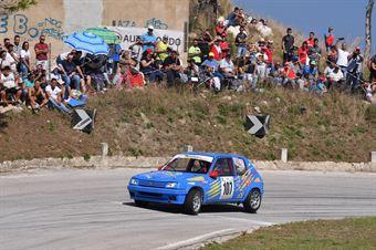 Craparotta Giuseppe (Trapani Corse, Peugeot 205 R #107), CAMPIONATO ITALIANO VELOCITÀ MONTAGNA