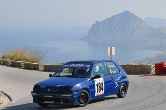 Davide Ignaccolo ( Peugeot 106 #184), CAMPIONATO ITALIANO VELOCITÀ MONTAGNA
