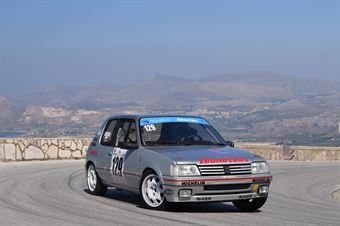 Daniele Adragna ( Sport & Comunicazione, Peugeot 205 R #129), CAMPIONATO ITALIANO VELOCITÀ MONTAGNA