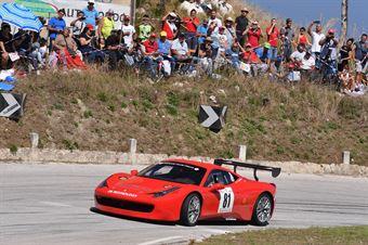 Vincenzo Gibbino (Ferrari 458 Challenge #81), CAMPIONATO ITALIANO VELOCITÀ MONTAGNA