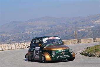 Alfredo Russo (Cubeda Corse, Fiat 500 #254), CAMPIONATO ITALIANO VELOCITÀ MONTAGNA