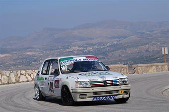Patane' Andrea (Peugeot 205 Rally, A.S.D. Scuderia Catania Corse #149), CAMPIONATO ITALIANO VELOCITÀ MONTAGNA