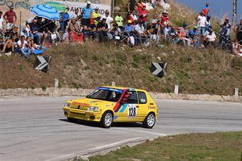 Adragna Giuseppe ( Sport & Comunicazione, Peugeot 205 r #128), CAMPIONATO ITALIANO VELOCITÀ MONTAGNA