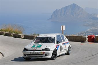 Bugeja Didier (Puntese Corse, Peugeot 106 R #105), CAMPIONATO ITALIANO VELOCITÀ MONTAGNA