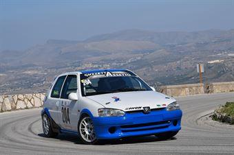 Angelo Danilo Russo (Puntese Corse, Peugeot 106 #204), CAMPIONATO ITALIANO VELOCITÀ MONTAGNA