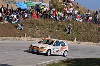 Enrico Figuccio (Trapani Corse, Citroen Saxo VTS #234), CAMPIONATO ITALIANO VELOCITÀ MONTAGNA