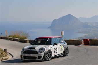 Agostino Scaffidi (CST Sport, Mini Cooper S JCW #219), CAMPIONATO ITALIANO VELOCITÀ MONTAGNA