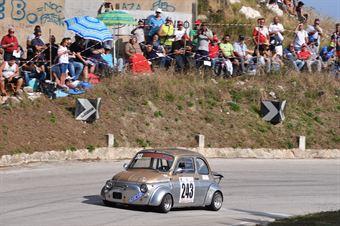 Longo Antonino(Fiat 500, Cubeda Corse Asd #243), CAMPIONATO ITALIANO VELOCITÀ MONTAGNA
