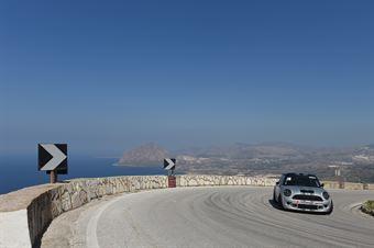 Domenico Tinella (Apulia Corse, Mini Cooper S #218), CAMPIONATO ITALIANO VELOCITÀ MONTAGNA