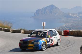 Barbagallo Giuseppe ( Catania Corse, Peugeot 205 #147), CAMPIONATO ITALIANO VELOCITÀ MONTAGNA