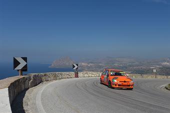Giuseppe Aragona ( Cubeda Corse, Peugeot 106  #99), CAMPIONATO ITALIANO VELOCITÀ MONTAGNA