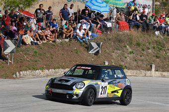 Francesco Pisciotta ( Team del Mago, Mini Cooper S #217), CAMPIONATO ITALIANO VELOCITÀ MONTAGNA