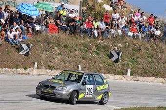 Giuseppe Perniciaro (Drepanum Corse, Peugeot 106 #202), CAMPIONATO ITALIANO VELOCITÀ MONTAGNA