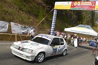 Bellia Luca ( Motor Team Nisseno, PEugeot 205 R #118), CAMPIONATO ITALIANO VELOCITÀ MONTAGNA