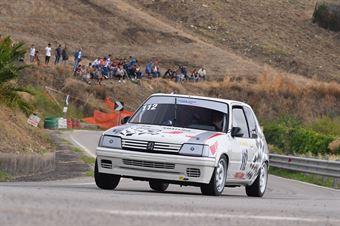 Iacona Luigi ( Motor Team Nisseno, Peugeot 205 R #112), CAMPIONATO ITALIANO VELOCITÀ MONTAGNA