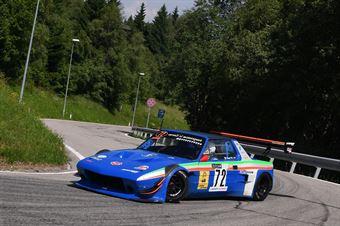 Dondi Manuel (CST Sport, Fiat X1/9 Alfa Romeo #72), CAMPIONATO ITALIANO VELOCITÀ MONTAGNA