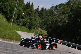 Mario Conci (Destra 4, Sanetti Honda #47), CAMPIONATO ITALIANO VELOCITÀ MONTAGNA