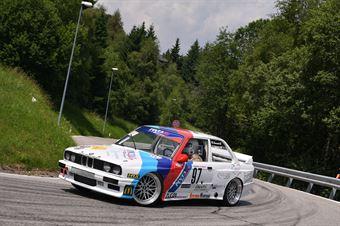 Claudio Zucol (Pintarally Motorsport, BMW 325 E30 # 97), CAMPIONATO ITALIANO VELOCITÀ MONTAGNA