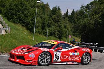 Maurizio Pitorri ( Best Lap, Ferrari 488 Challenge #85), CAMPIONATO ITALIANO VELOCITÀ MONTAGNA