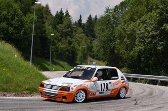 Angelo Giovannini (Destra 4, Peugeot 205 Rally #176), CAMPIONATO ITALIANO VELOCITÀ MONTAGNA