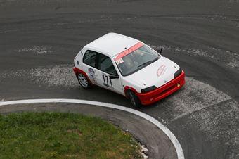 Bommartini Matteo ( Peugeot 106, BL Racing #171), CAMPIONATO ITALIANO VELOCITÀ MONTAGNA