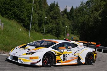 Rosario Parrino (Antonelli Motorsport , Lamborghini Huracan #86), CAMPIONATO ITALIANO VELOCITÀ MONTAGNA