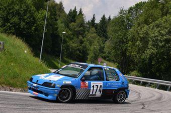 Sieberlechner Martin (Destra 4, Peugeot 106 #174), CAMPIONATO ITALIANO VELOCITÀ MONTAGNA